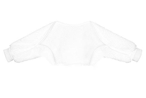 Odenwälder BabyNest Ärmelinchen, Größe:110, Design:weiß