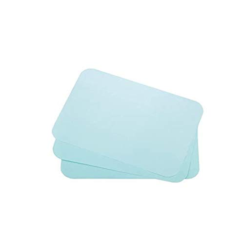 Dental Tray Covers Paper - Size B Tray 8.5'x12.25' Premium Tray Paper Also Great for Beauty Tray, Pack of 1000, by Vivid (Blue)