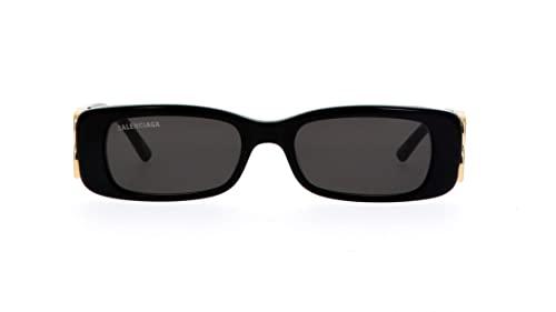 balenciaga occhiali Balenciaga Occhiali da Sole BB0096S Black/Grey 51/18/130 donna