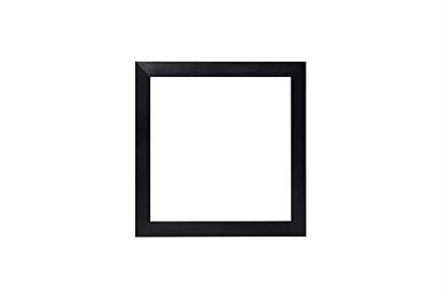 Schwarz - Instagram Quadratischer 3D-tiefem Range Foto-Rahmen/Bild- / Posterrahmen - 20 mm breit und 33 mm tief - Mit einem bruchsicheren Perspex-Blatt - 5 x 5 Zoll