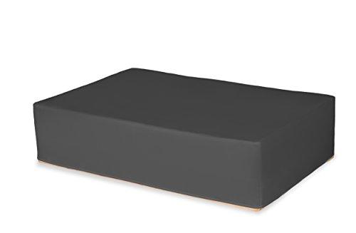 TexDeko GmbH Husse für Europalette, Palettenhusse, Überzug (↨2 Paletten) 120x80x29cm Anthrazit wasserabweisend/schmutzabweisend