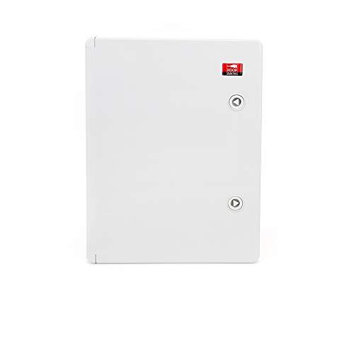 KOOP Elektro ABS Verteilerschrank Schaltschrank mit Verriegelung Tür mit umlaufender Dichtung 300x400x220 Industriegehäuse IP65 mit verzinkter Montageplatte