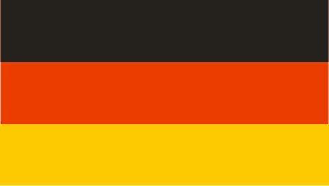Deutschland Fahne XXL 210 x 500cm Schwarz Rot Gold Flagge