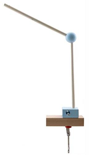 Hess 10252móvil Soporte de Madera, Nature, Color Azul