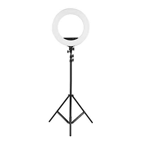Fotografía Light Soporte De Luz 2 M/Espejo/Teléfono/Bolso 80W Dimmable 3200K-5800K Bi-Color para Video Video De IluminaciónStreaming para Fotografía