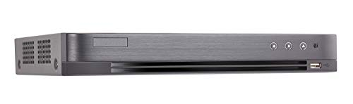 Hikvision OEM US Version Turbo HD DVR, DS-7208HQHI-K1, 8-ch Analog Video Input or 4-ch (up to 12) IP Video Input, Support PoE, H.265 pro+ Compression, AcuSense Technology, HDD not Included