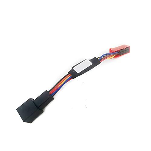 XIAOQIN BOMY Ajuste para el Asiento León MK3 2013-2019 Coche Smart Stop Canceller Stop Start SIPER Sistema Sistema Sistema ELIMINADOR DE APROXIENTO Control del Sensor (Color : 6 Pins for 13 19)
