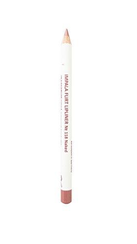 Impala Flirt Lipliner Bleistifte Farbe 118 Naked Matt Wasserdicht
