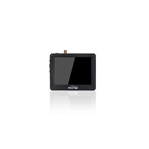 SZMYLED Mini Pilot Drone Monitor, 5,8 GHz 48 CH 960 x 240 ricevitore con batteria per RC Racing Drone RC Car Boat 2,5 pollici