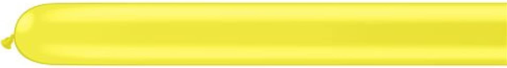 Qualatex ★260Q★スタンダードカラー(単色)約100入 イエロー 【風船 バルーン】【マジックバルーン】 【ペンシルバルーン】【ツイストバルーン】【バルーンアート】【縁日】【お祭り】