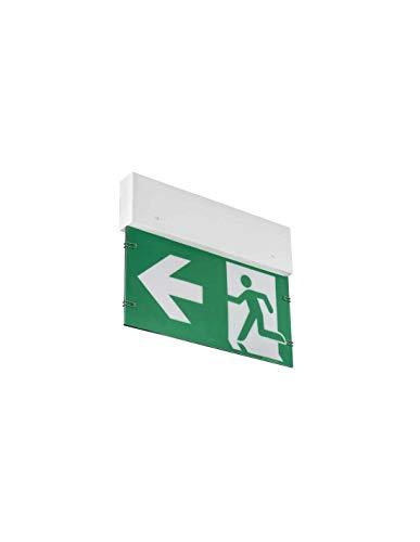 IP 20 LED Notleuchte Notbeleuchtung Exit Notausgang Fluchtwegleuchte Notlicht Fluchtweg