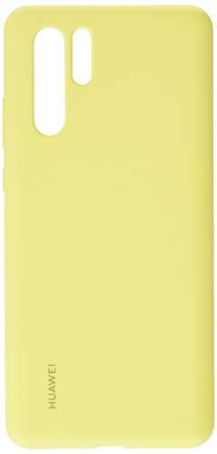 Huawei Fundas - Carcasa de silicona para Huawei P30 Pro, Color Amarillo