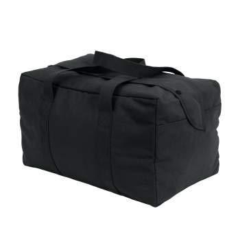 "Black Parachute Cargo Bag 19"" x 12"" x 11"""