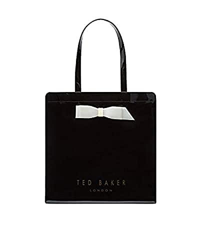 Ted Baker Women's Almacon Bow Detail Large Icon Bag (Black (2906))