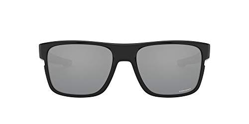 Oakley Crossrange Asian Fit Sunglasses Polished Black/Prizm Black Lens