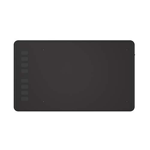 HUION ペンタブレットH950P PC必要なし スマホで使える可能 傾き検知機能更新可能 充電不要8192レベル筆圧...
