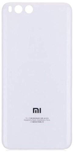 Desconocido Tapa Batería para Xiaomi Mi 6, Mi6, Cristal Trasero Cubierta Trasera (Blanco)