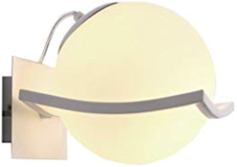 Energie sparen Spiegel Frontleuchten, Moderne Einfachheit europischen Stil sphrischen LED-Mode Creative Hotel Schlafzimmer Bedside Wandleuchte Vor der Spiegel Korridor Wandleuchte Dauerhaft