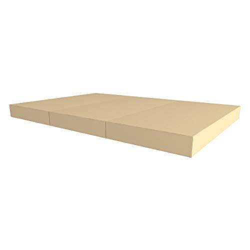 Idealfit klappbare Turnmatte Soft Shield Pro beige 150x100x10cm, IFA-94