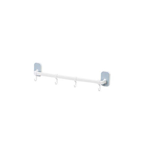 Mengmiao Badezimmer Hausschuhe Rack Home Wandmontage Schuhregal Lagerregal Platzsparende Handtuchhalter Schuhhalter (Blau#1, 56 * 5 * 6 cm)