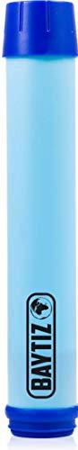 Baytiz - Pajita de repuesto para botella de agua filtrante, botella de supervivencia al carbón activo, filtro de agua portátil, viaje, senderismo, trek, camping, kit purificador reutilizable