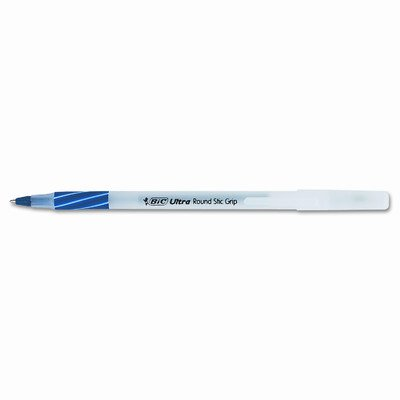 Tamaño mediano Ultra redondo Stic Grip bolígrafos Stick Pen, 12/Pack [Set de 3]