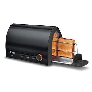 Arzum Toaster, Aluminium, Schwarz, 0 cm