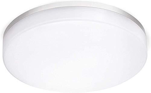 BBounder 24W LED runde Deckenlampe,IP54 wasserdichte Badlampe,4000K kaltweiße Deckenleuchte,2000lm Lampe,geeignet für Badezimmer Küche Wohnzimmer Balkon,Ø28cm