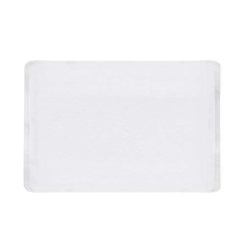 Cracklight - Juego de manteles individuales de silicona transparente, multifunción, resistentes al calor, gruesos, antideslizantes, lavables