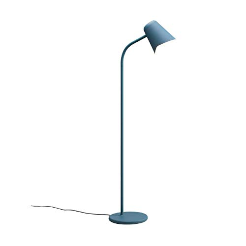 Northern Me Petrolblau Stehlampe Stahl/Gusseisen/Silikon 130 cm x 25 cm