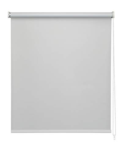 EASYDECO - Estor enrollable Blackout (Gris,...