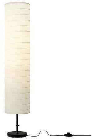 Ikea 4 lámparas de pie, metal, 46 pulgadas