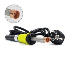 Lötkolben + Lochschweißaufsatz 30W zur professionellen Anfertigung von Einfüllöffnungen mit Durchmesser von Ø 15mm an Tonerkartuschen