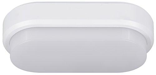 Müller-Licht–Lámpara LED de plafón para entornos húmedos, plástico, Weiß, 20 x 10...