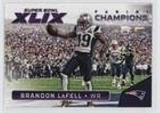 Brandon LaFell (Football Card) 2015 Panini Super Bowl XLIX - Promo Pack Champions #20