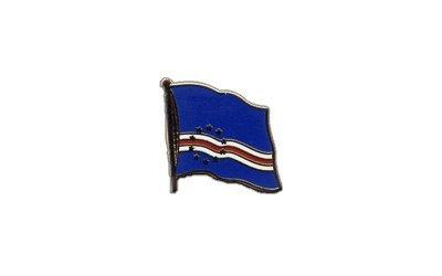 Flaggen-Pin/Anstecker Kap Verde vergoldet
