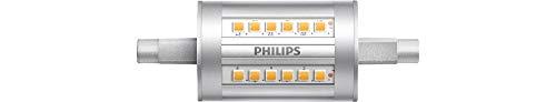 Philips LED-Leuchtmittel, entspricht 60 W, R7S, 78 mm, nicht dimmbar, Glas