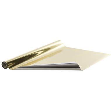 metallisierte Deko-Folie glänzend gold