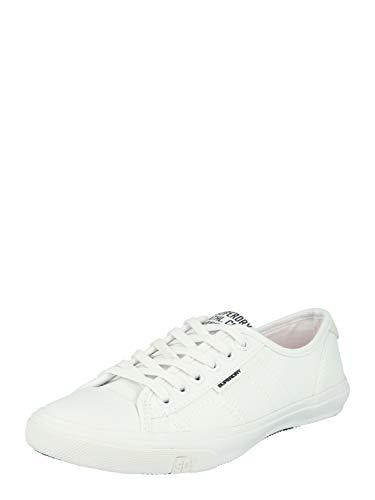 Superdry Damen Low PRO Sneaker, Weiß (Optic White 26C), 37 EU