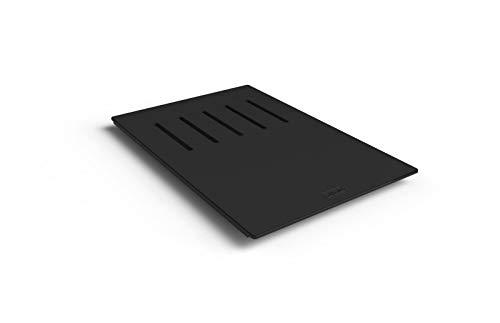 ELLECI ATH040BK Element Quadra Planche de Cuisine, Noir