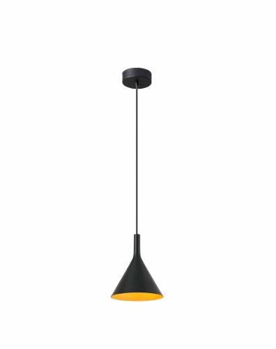 FARO BARCELONA 64160 - Pam Lámpara Colgante (Bombilla incluida) LED, 11W, Aluminio, Color Negro