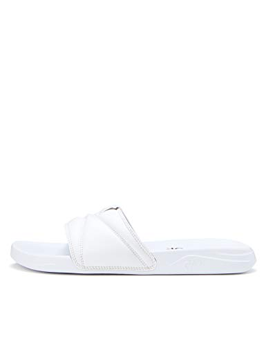 CARE OF by PUMA Slide 2 Flip Flops, Weiß (White-Black), 40 EU