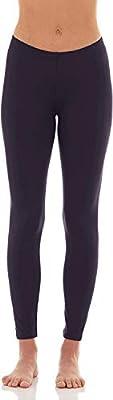 Bodtek Women's Thermal Underwear Pants Long Johns Fleece Lined Base Layer Bottom (Navy, Large) from Bodtek