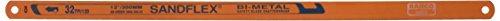 Bahco Sandflex Bi-Metall Handsägeblatt, 3 Klingen, 18, 24 und 32 TPI