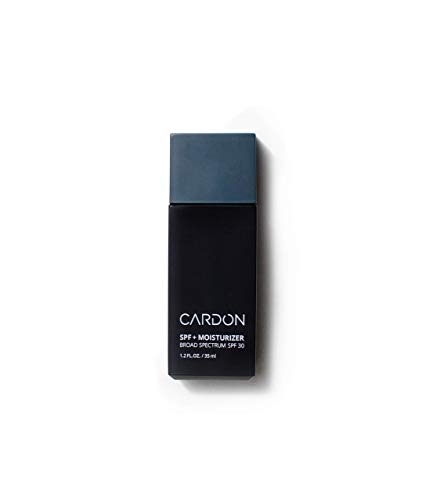 Cardon Men's 2-in-1 Facial Moisturizer with SPF | Lightweight and Fast-Absorbing | Broad-Spectrum SPF 30 Sunscreen | Oil-free, Water-based, Reef-safe | Made with Natural Cactus Extract | 35ml