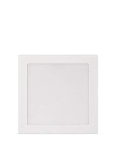 Painel Plafon Led Philips de sobrepor quadrado 18W luz branca neutra (4000K) bivolt (100-240V)