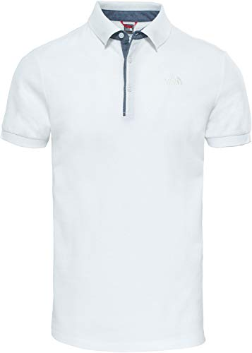 The North Face Premium Polo Homme Blanc FR : S (Taille Fabricant : S)