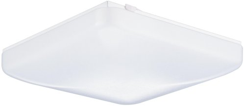Lithonia Lighting FM 22 ACLS LP M4 1-Light Fluorescent Flush-Mount Ceiling Fixture, White Acrylic