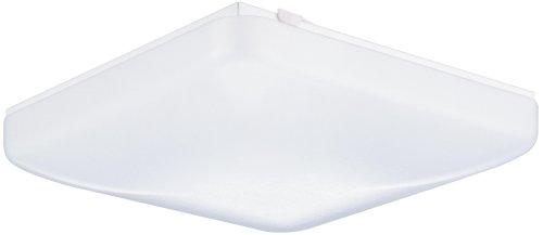 Lithonia Lighting FM 22 ACLS LP M4 1-Light Fluorescent Flush-Mount Ceiling Fixture, White Acrylic