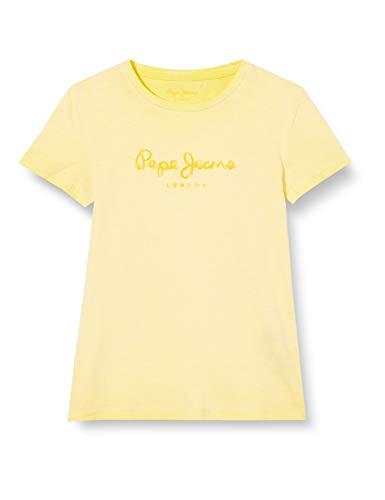Pepe Jeans Bastian Camiseta, Amarillo (Solar 065), 16-17 años (Talla del Fabricante:...